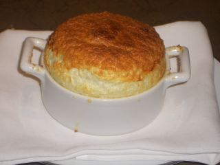 Onion Soup Souffle